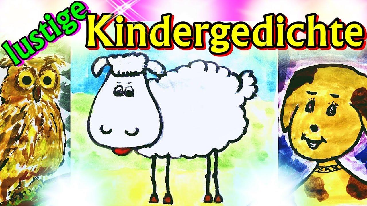 Lustige Kindergedichte, Tiergedichte Für Kinder Im Kindergarten, Schule,  Witzige Gedichte Über Tiere mit Geburtstagsgedichte Für Kinder Lustig