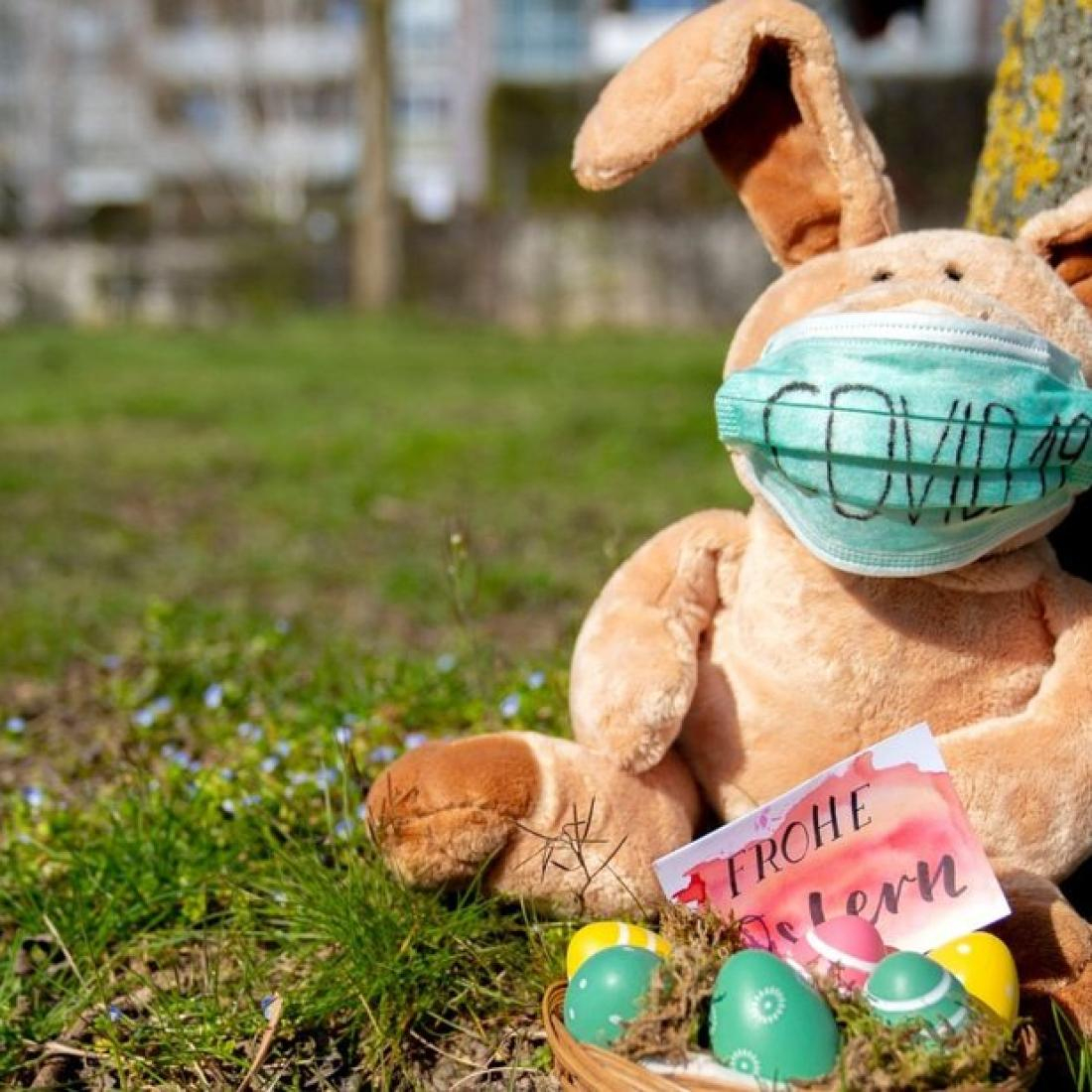 Lustige Mitteilung Auf Twitter: Polizei Gibt Entwarnung für Lustiger Osterhase