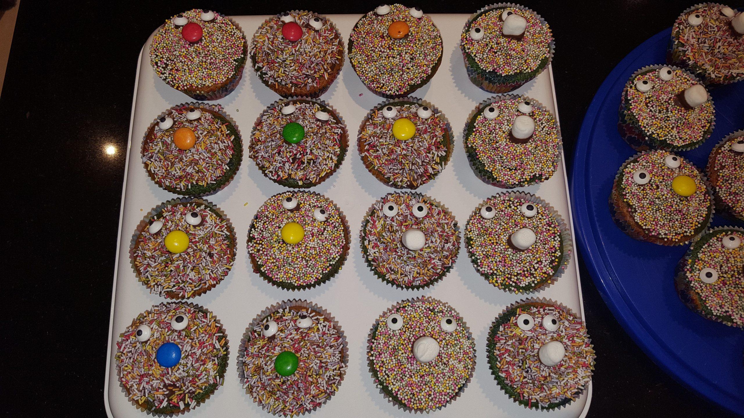 Lustige Muffins Für Den Kindergeburtstag Gebacken ;-) — Steemit bei Lustige Muffins Für Kindergeburtstag