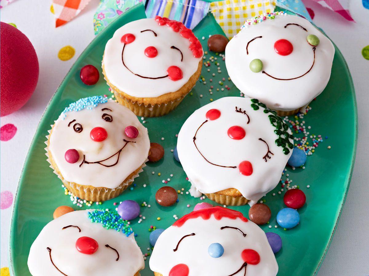Lustige Muffins - Rezepte Für Kleine Kuchen Mit Spaßfaktor ganzes Lustige Muffins Für Kindergeburtstag