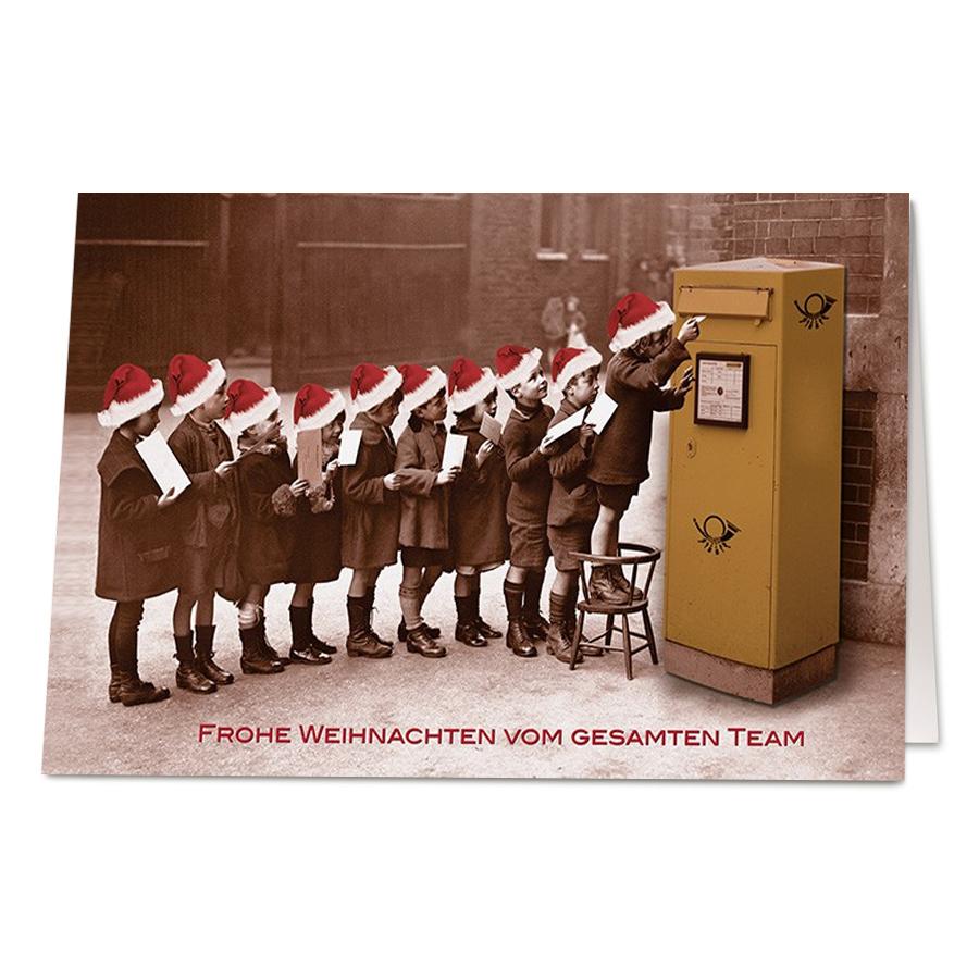"""Lustige Weihnachtskarten """"wunschzettel"""" Bestellen innen Lustige Wunschzettel Zu Weihnachten"""