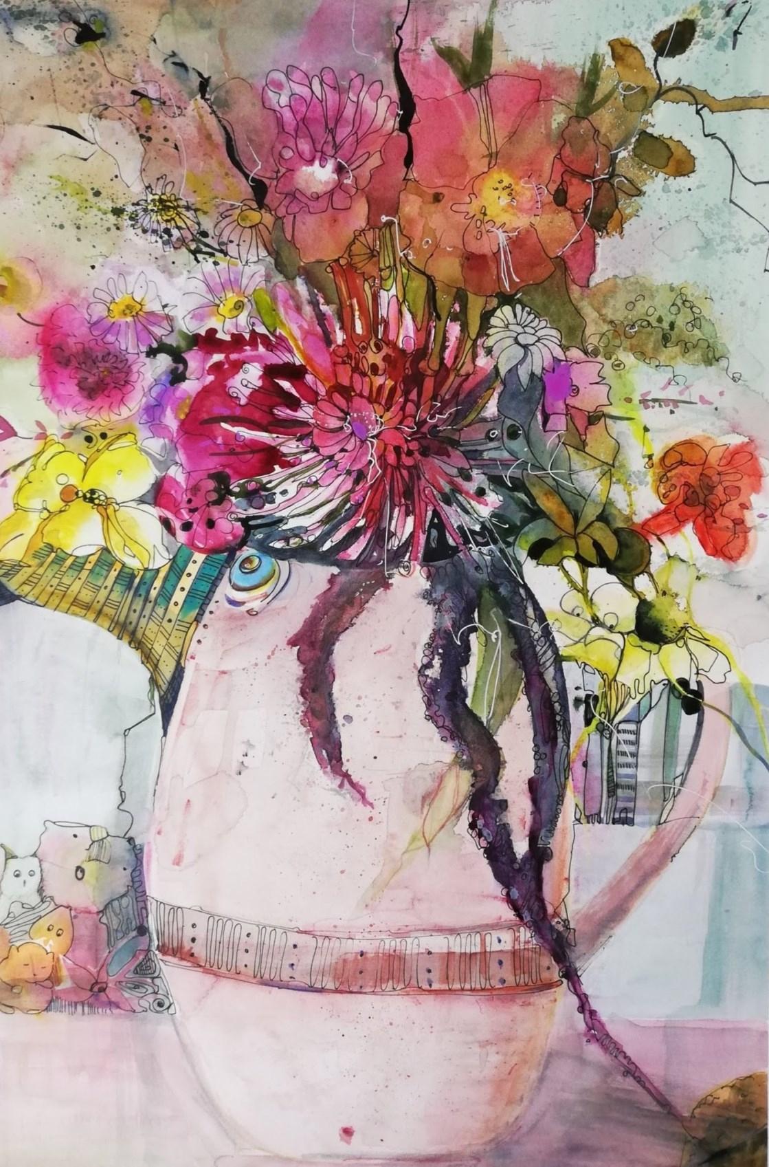 Lustiges Blumenbild innen Lustige Blumenbilder
