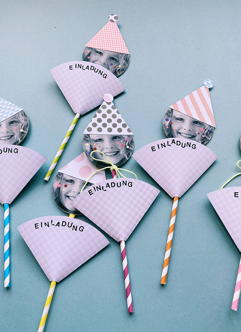 Lustigste Geburtstagseinladungen Für Kinder Basteln bestimmt für Einfache Bastelideen Zum Kindergeburtstag
