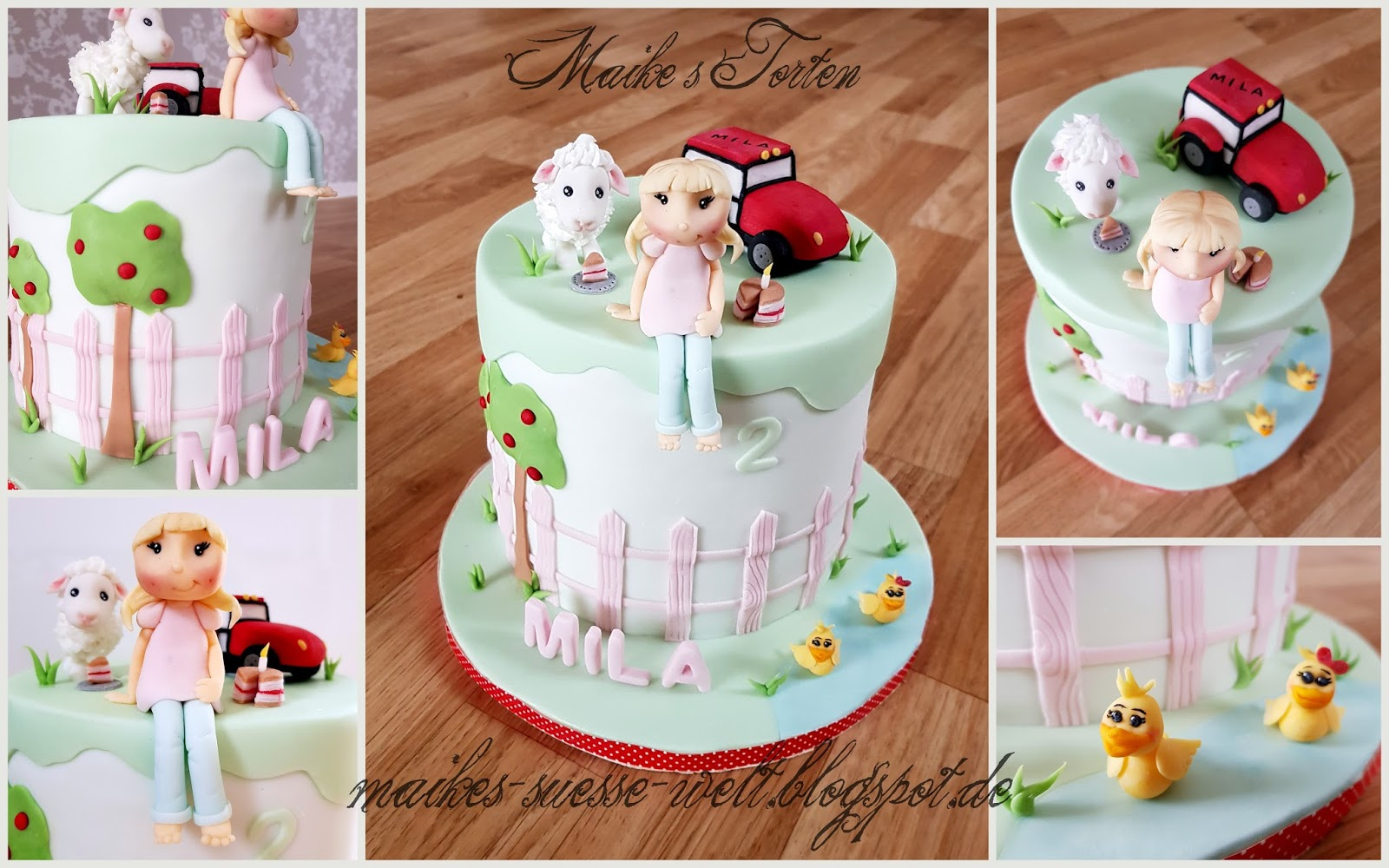 Maike´s Süße Welt: Mila´s Torte Zum 2. Geburtstag / Rezept bei Torte Zum 2 Geburtstag