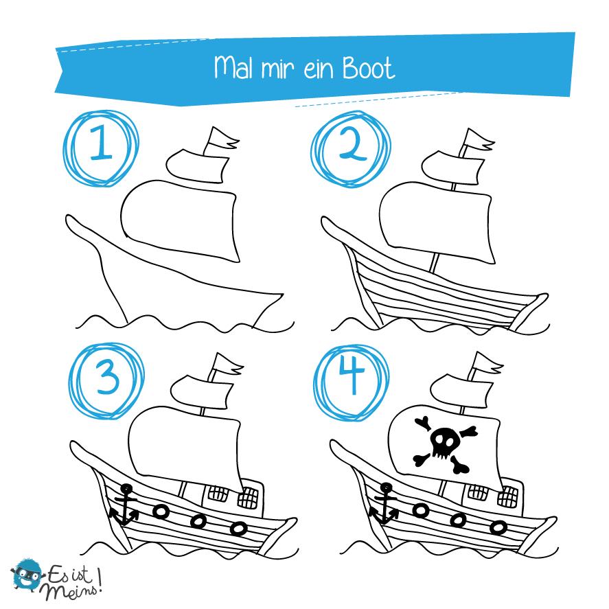 Mal Mirpiraten (Mit Bildern) | Piraten, Piratenschiff mit Malvorlage Piratenschiff