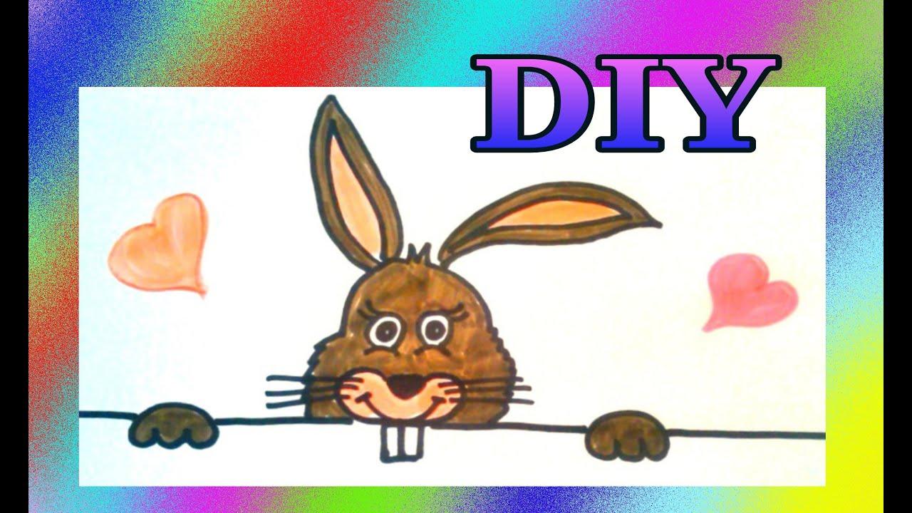 Malen Für Kinder : Lustiger Osterhase * Julebuergerfee in Lustiger Osterhase