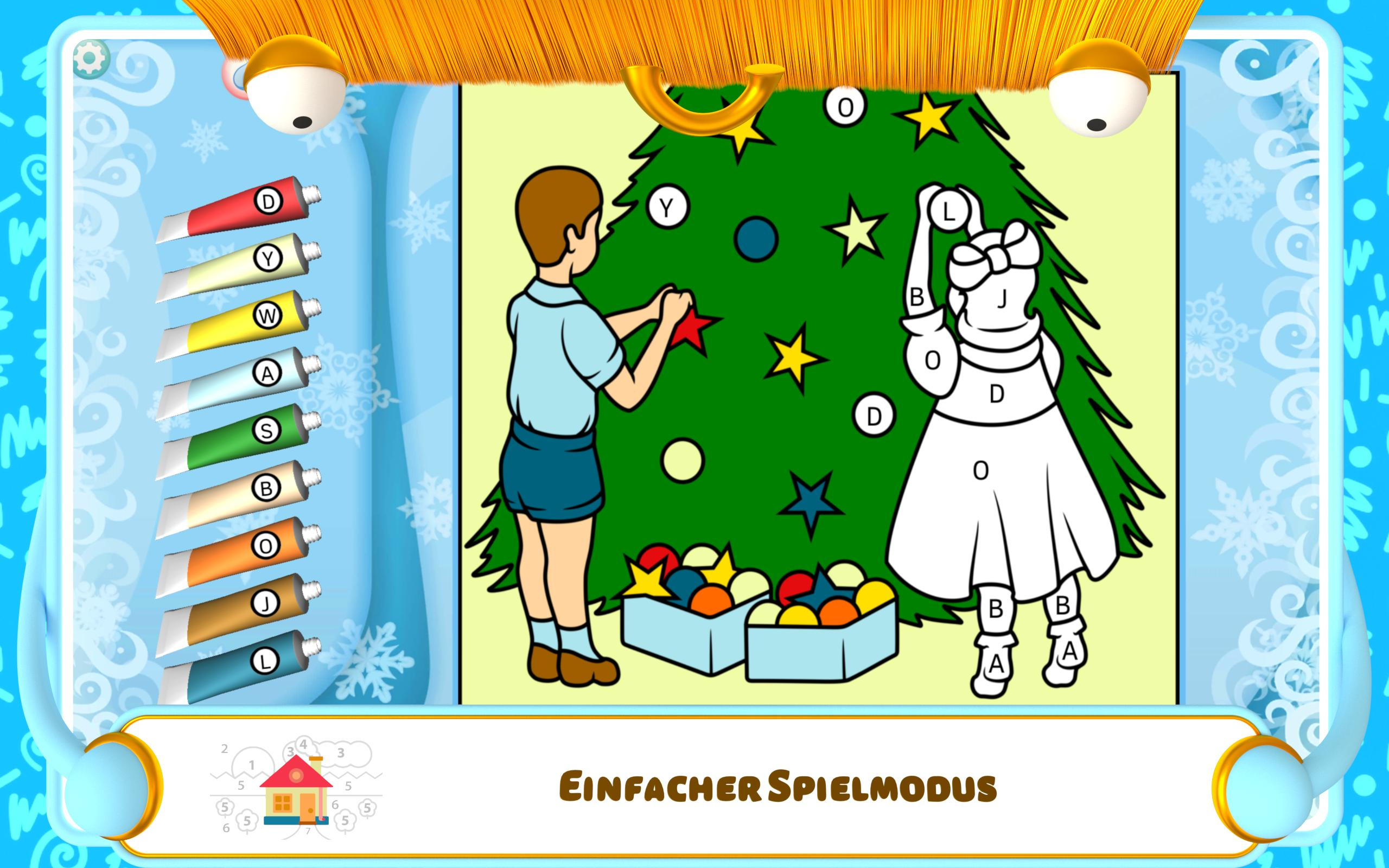 Malen Nach Zahlen Weihnachten Für Android - Apk Herunterladen bei Weihnachten Malen Nach Zahlen