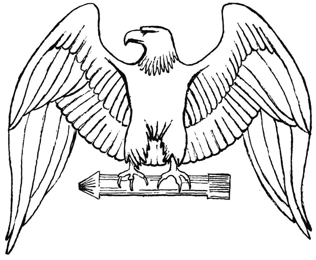 Malvorlage Adler - Kostenlose Ausmalbilder Zum Ausdrucken. bei Ausmalbilder Adler