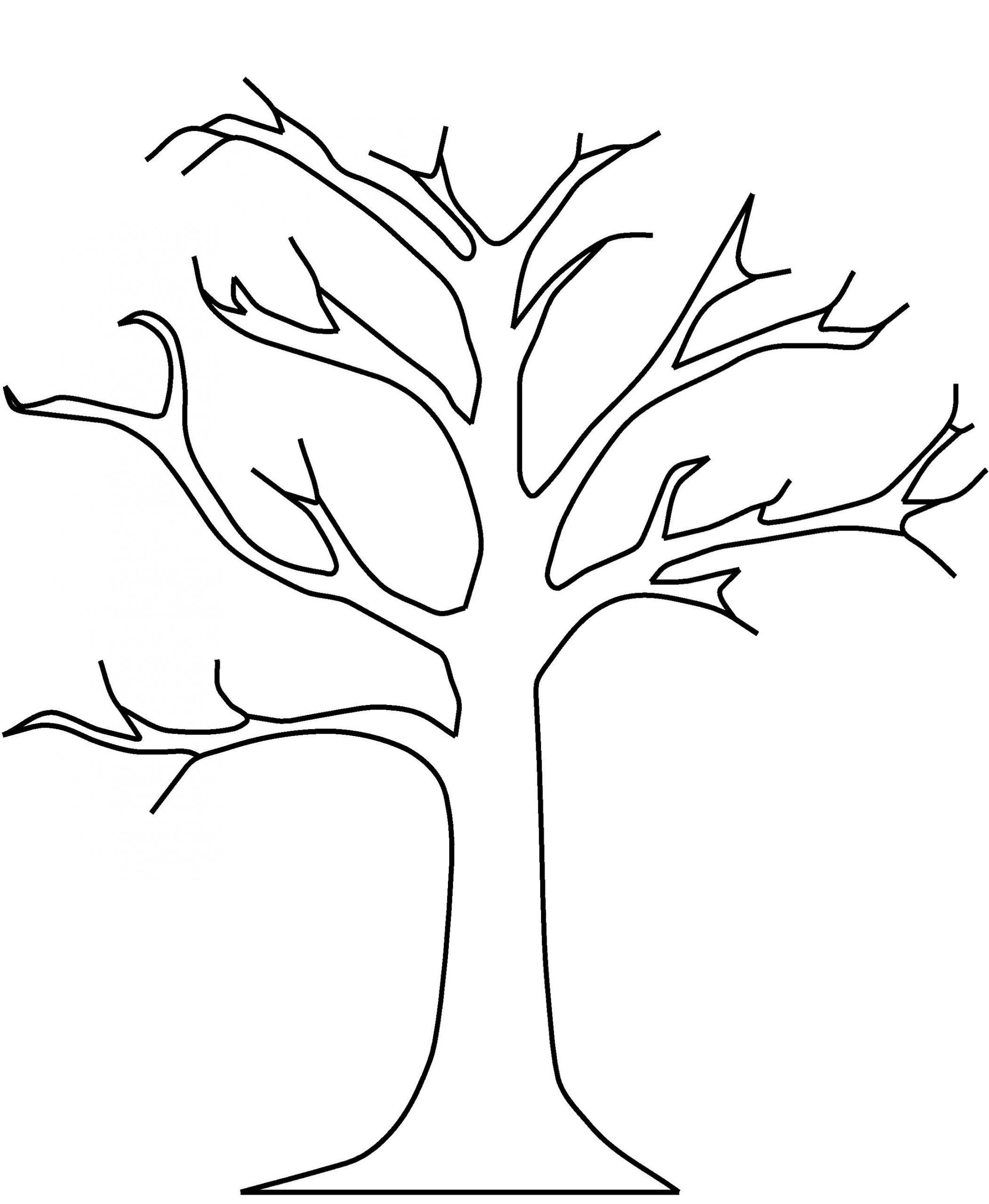 herbstbaum zum ausmalen  kinderbilderdownload