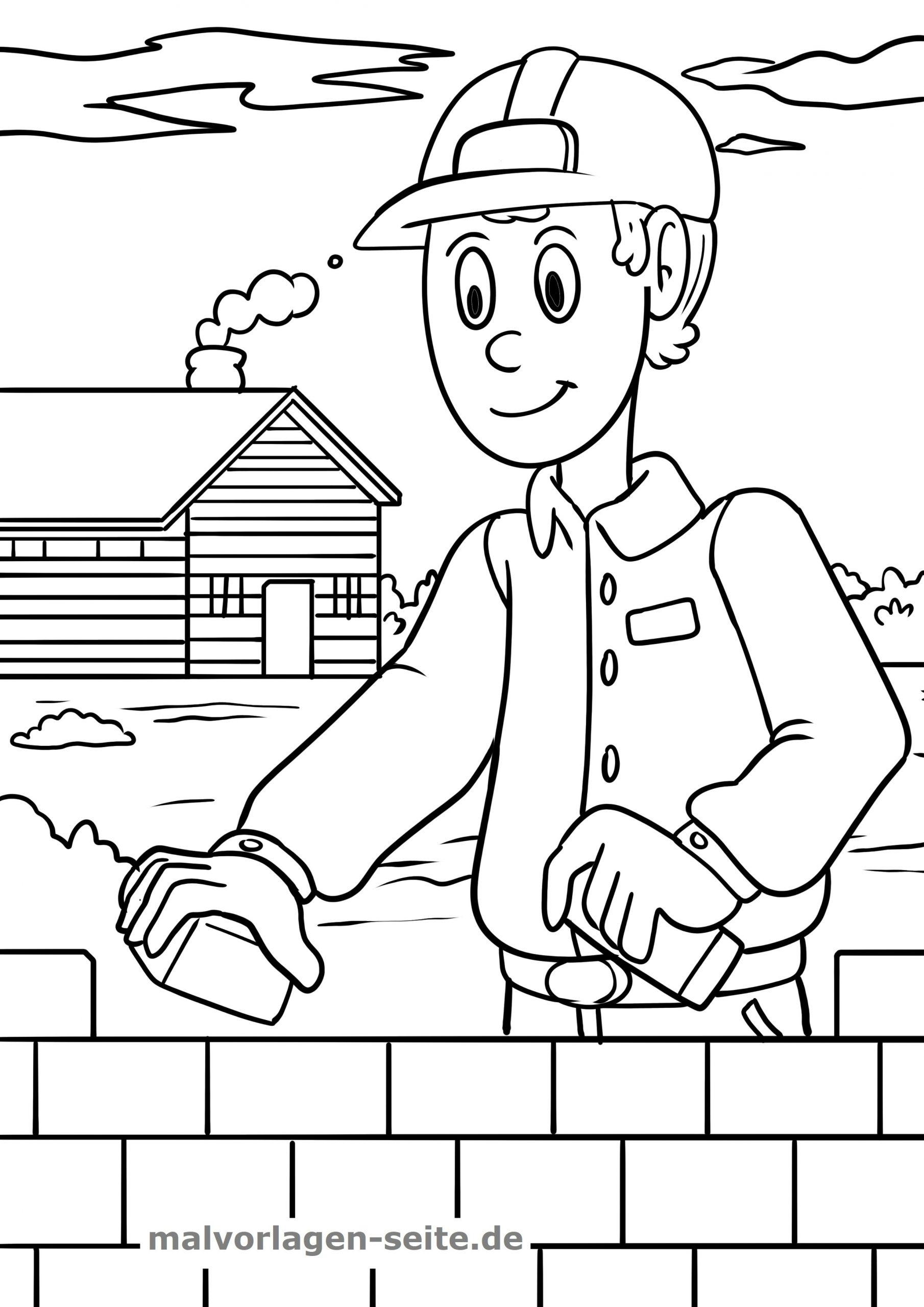 Malvorlage Baustelle - Ausmalbilder Kostenlos Herunterladen verwandt mit Baustelle Ausmalbilder