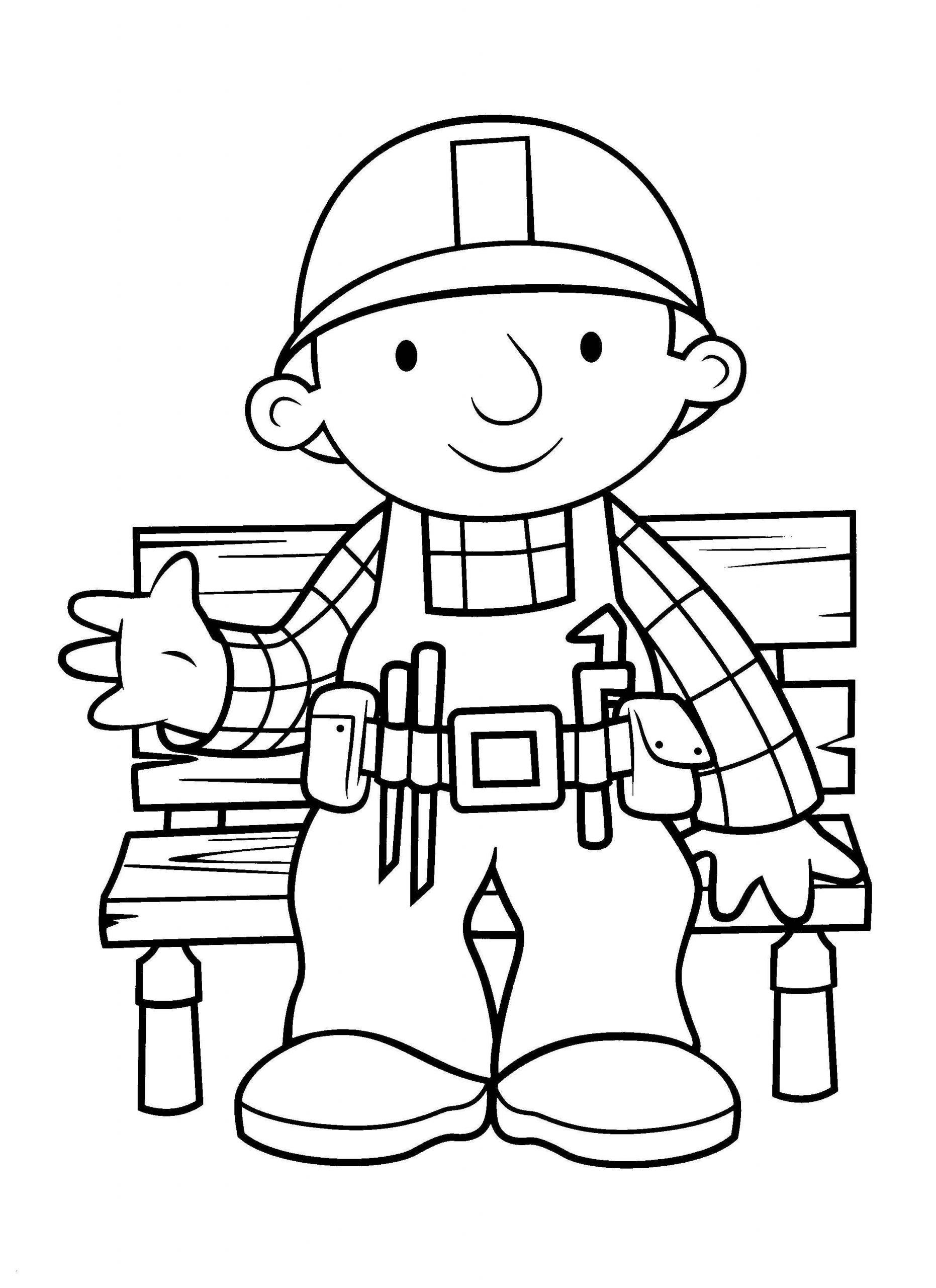 Malvorlage Bob Der Baumeister Druckbare Färbung Malvorlagen ganzes Bob Der Baumeister Malvorlage