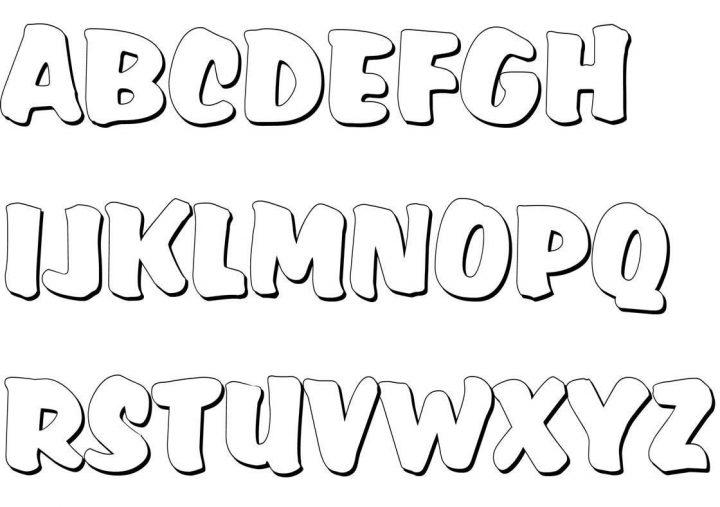 Malvorlage Buchstaben A-Z 1344 Malvorlage Alle Ausmalbilder mit Malvorlage Buchstaben