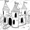 Malvorlage Burg - Ausmalbilder Kostenlos Herunterladen bei Ausmalbild Ritterburg