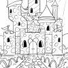 Malvorlage Burg - Ausmalbilder Kostenlos Herunterladen mit Ausmalbild Ritterburg