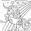 Malvorlage Einhorn - Ausmalbilder Kostenlos Herunterladen mit Einhorn Ausmalbilder