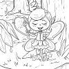 Malvorlage Elfe | Fabelwesen - Ausmalbilder Kostenlos in Ausmalbild Elfe