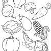Malvorlage Gemüse | Essen - Ausmalbilder Kostenlos Herunterladen mit Ausmalbilder Essen