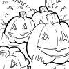 Malvorlage Halloween Kürbis | Feiertage - Ausmalbilder über Kürbis Ausmalbild
