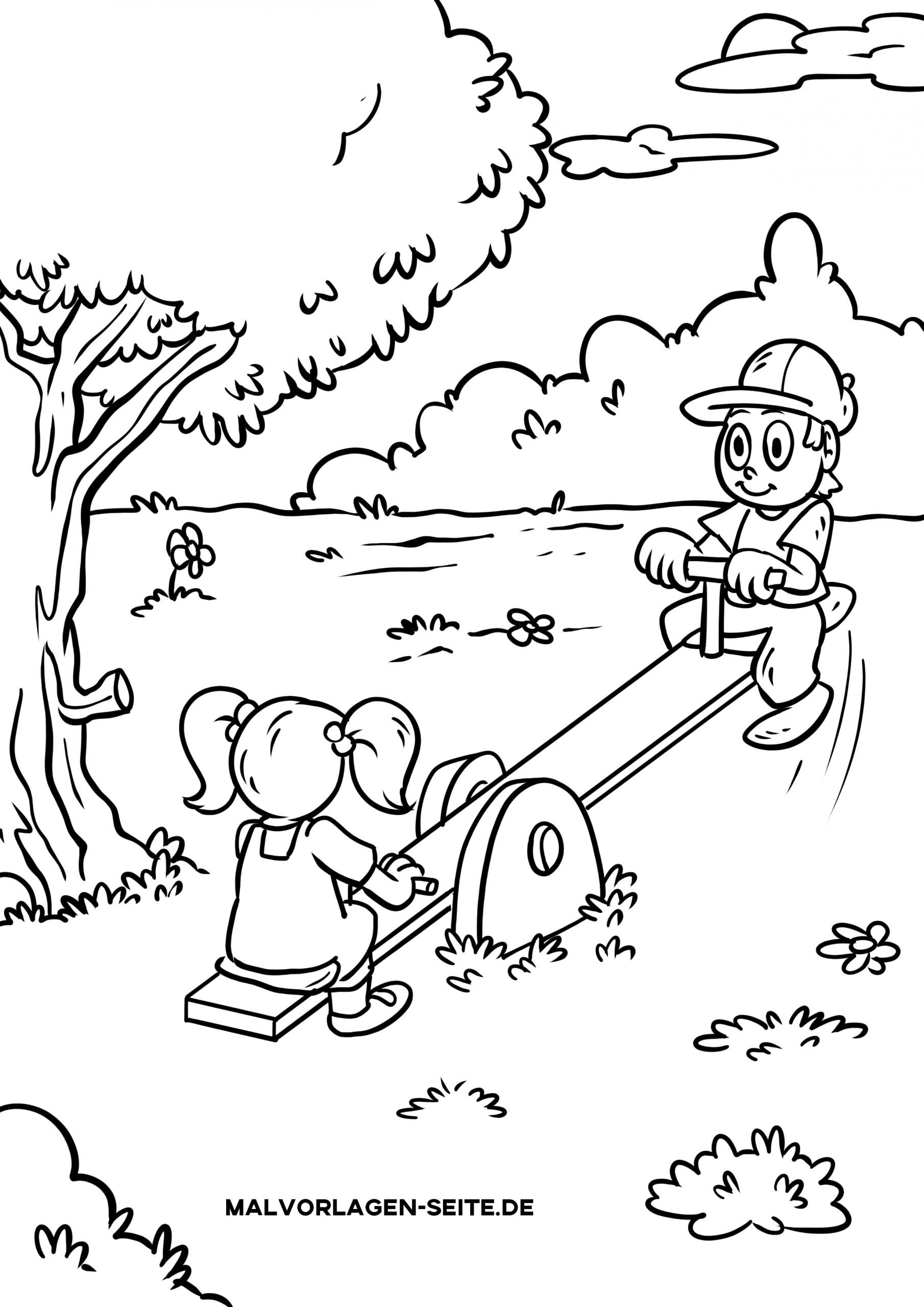 Malvorlage Kinder - Ausmalbilder Kostenlos Herunterladen bei Kinderausmalbilder
