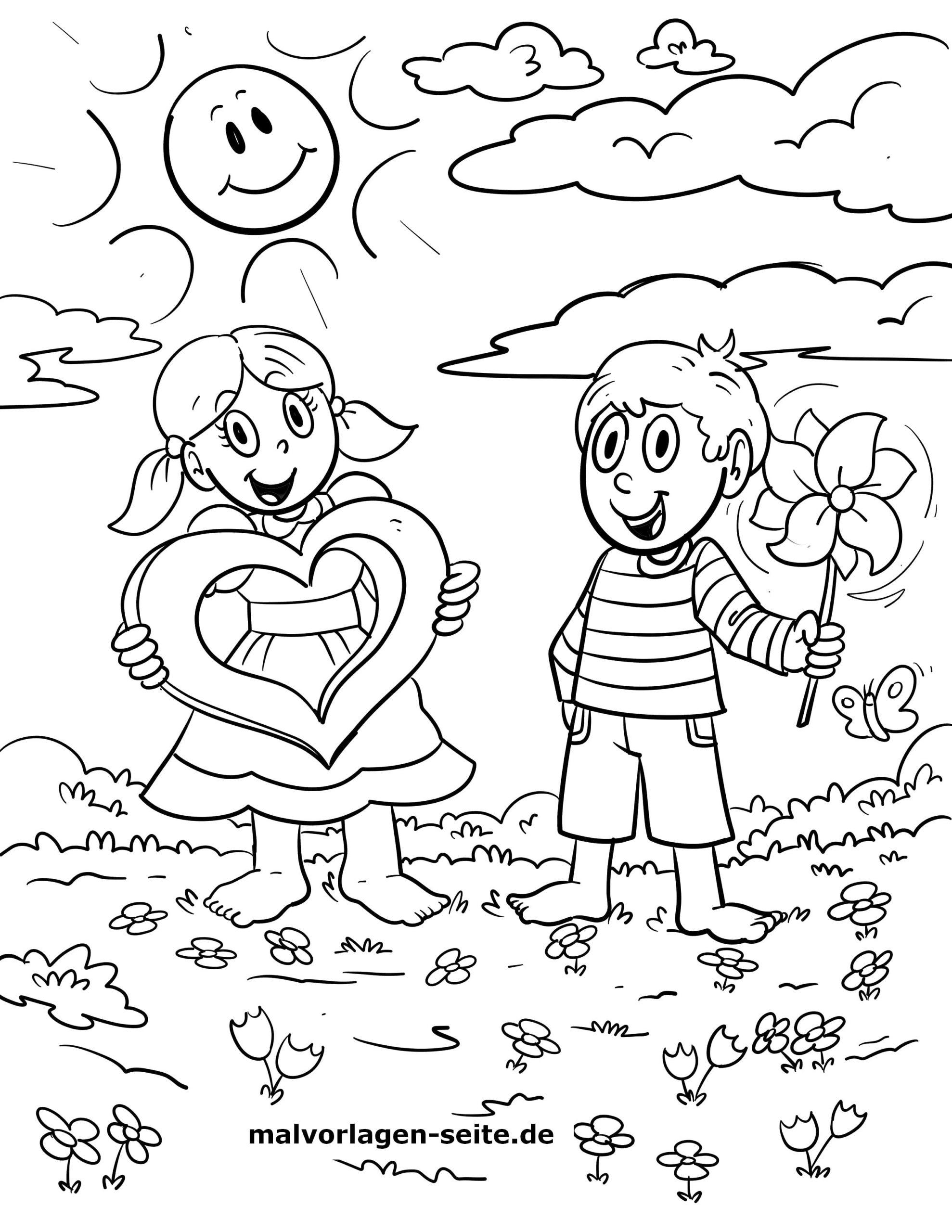 Malvorlage Kinder - Ausmalbilder Kostenlos Herunterladen verwandt mit Malvorlage Kind