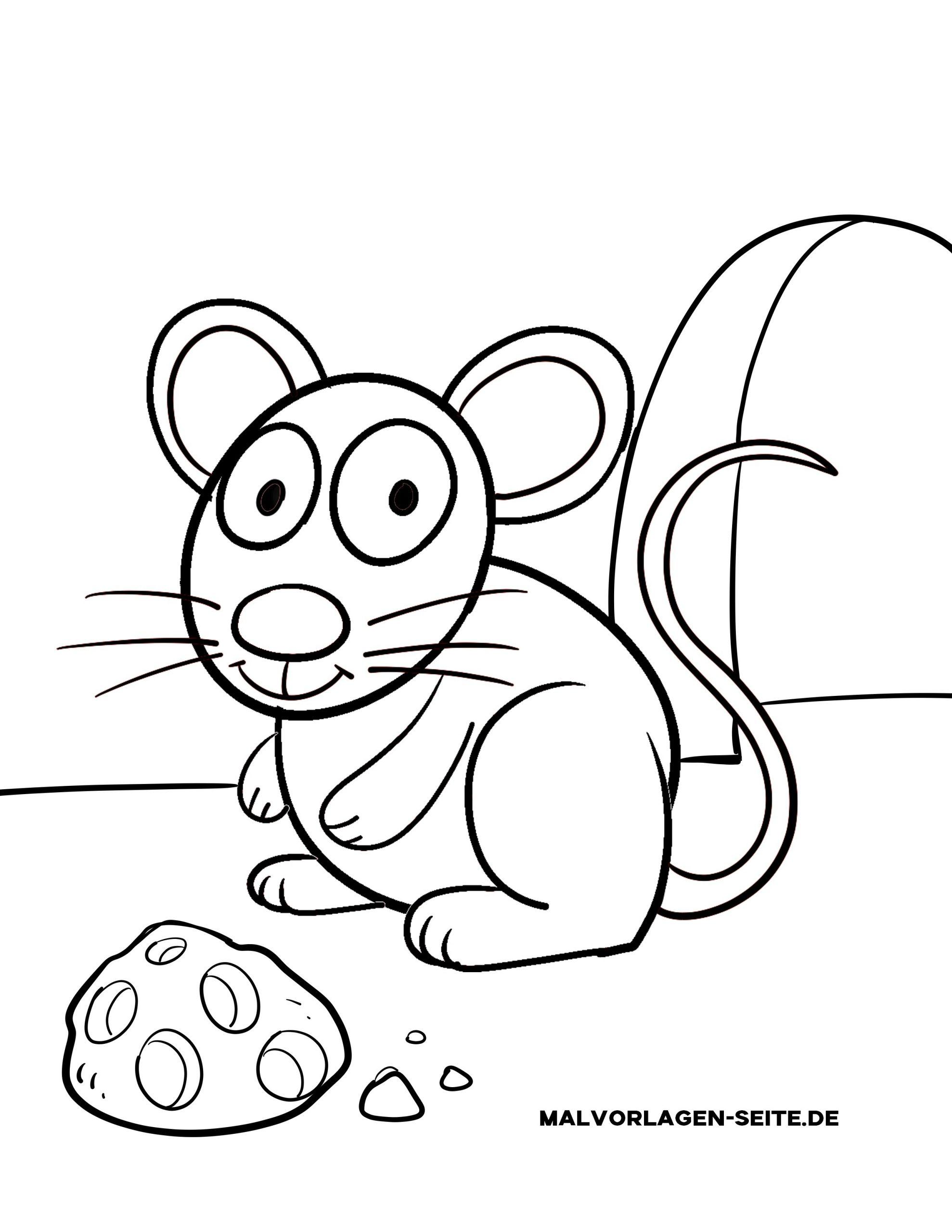 Malvorlage Kleine Kinder - Maus - Ausmalbilder Kostenlos verwandt mit Ausmalbilder Die Maus