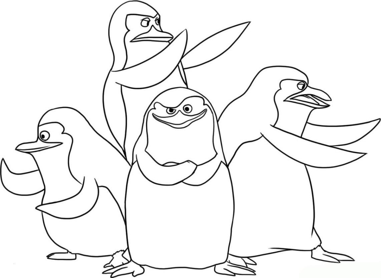 Malvorlage Pinguin | Coloring And Malvorlagan mit Pinguin Malvorlage