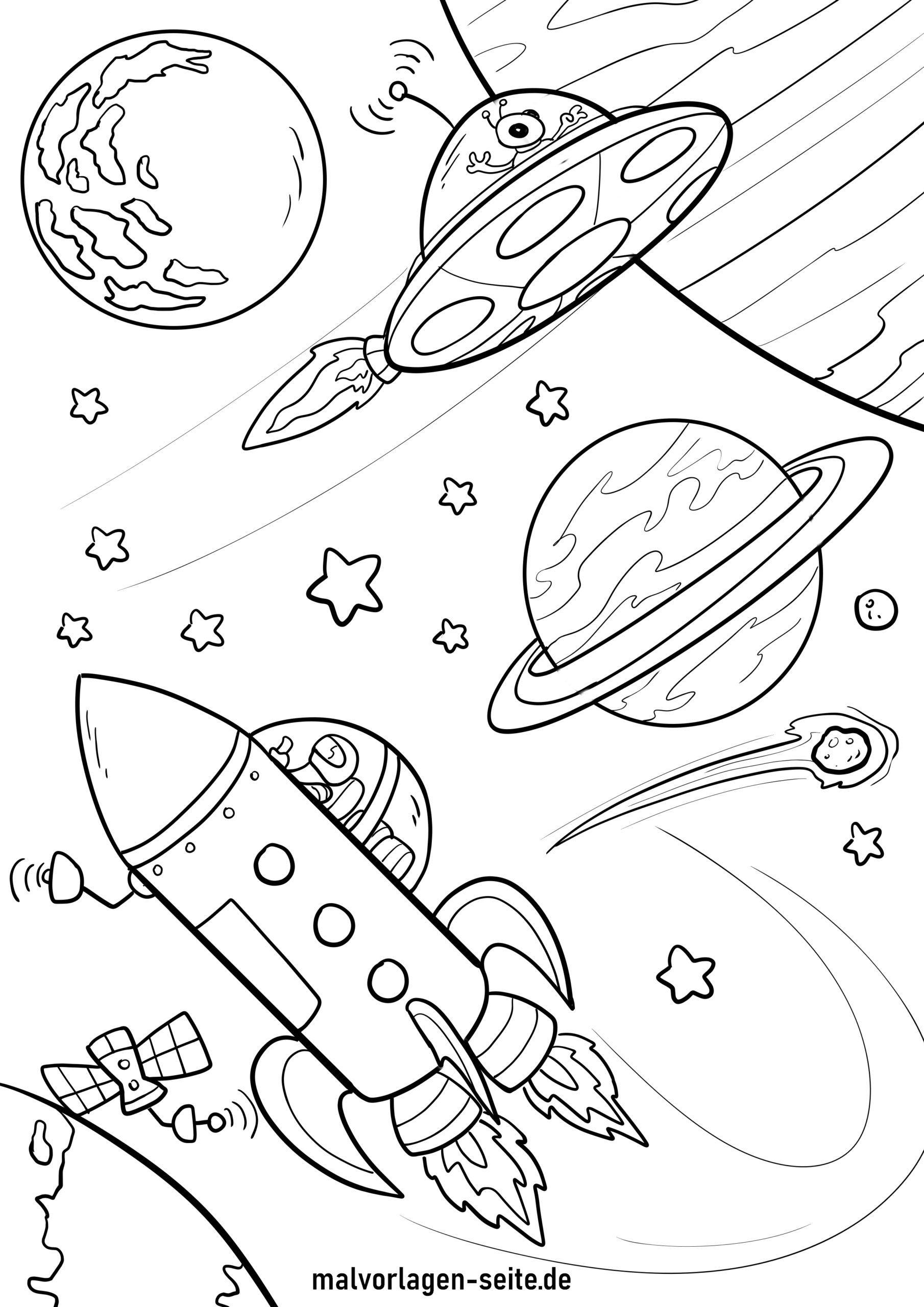 planeten bilder zum ausmalen  kinderbilderdownload