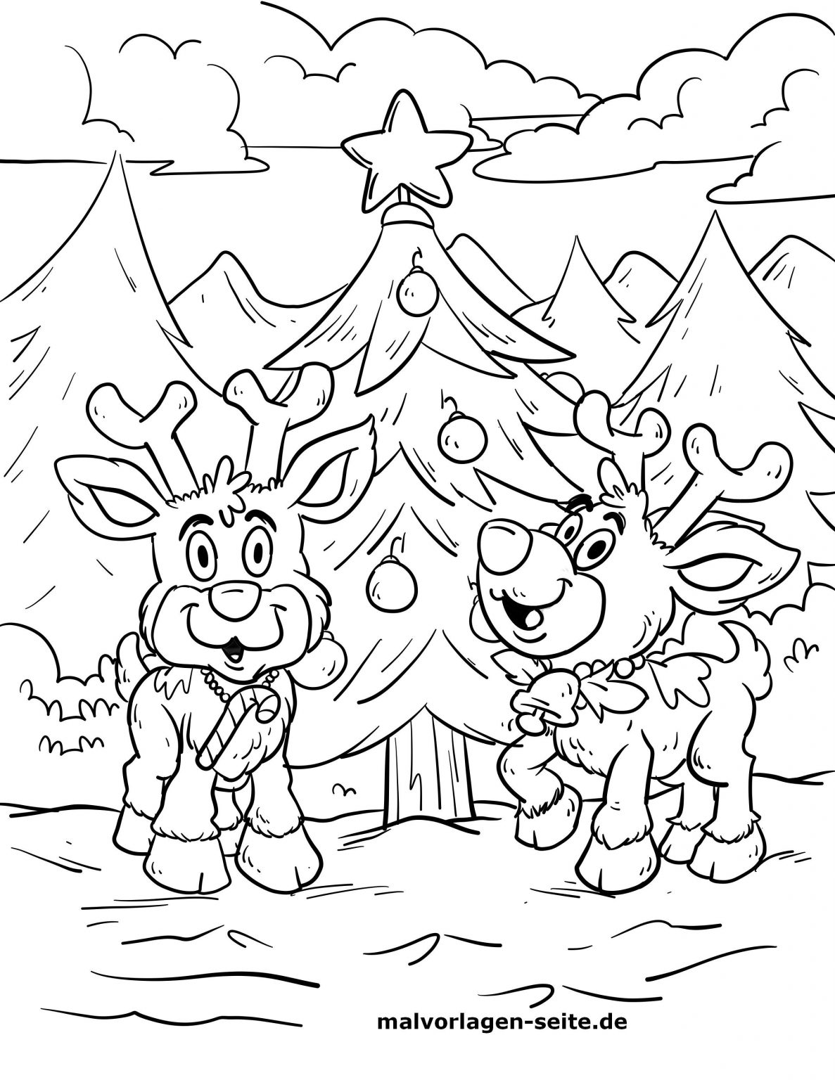 weihnachten malvorlagen  kinderbilderdownload