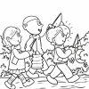 Malvorlage Sankt Martin   Feiertage - Ausmalbilder Kostenlos über Ausmalbild Laterne