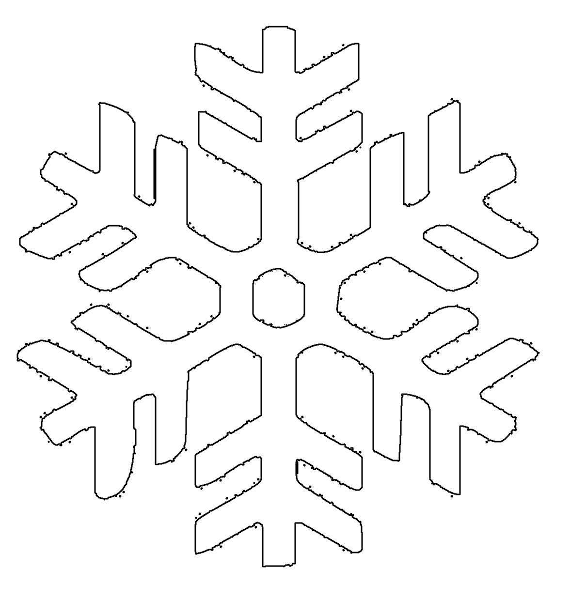 Malvorlage Schneesterne | Coloring And Malvorlagan für Schneeflocke Vorlage