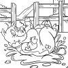 Malvorlage Schwein | Tiere Bauernhof - Ausmalbilder in Ausmalbild Schwein