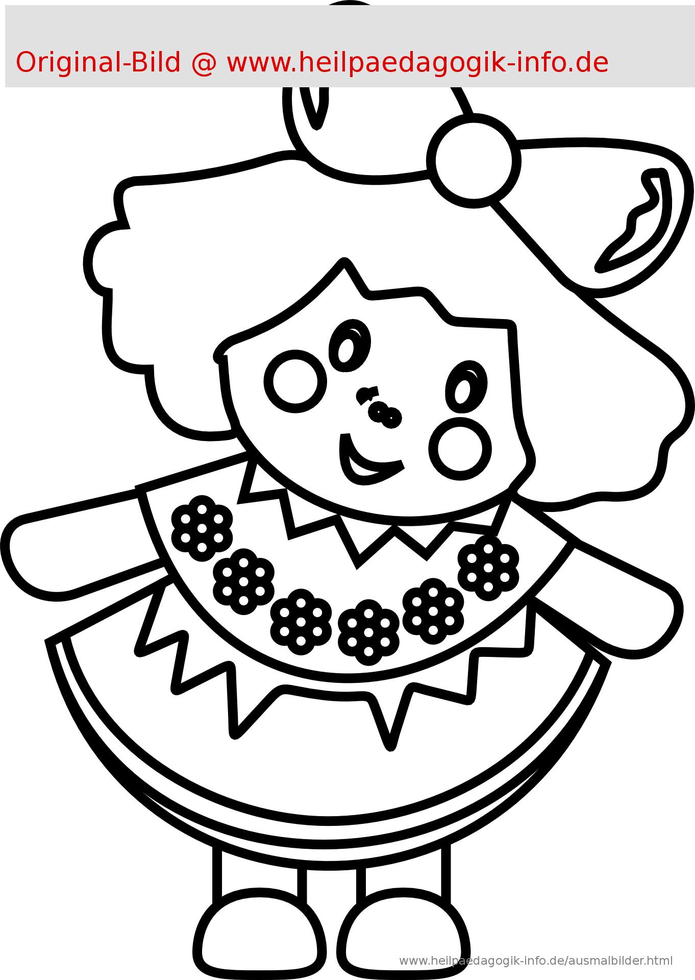 Malvorlage Spielzeug Ball Auto Puppe | Coloring And Malvorlagan verwandt mit Ausmalbilder Puppe
