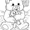 Malvorlage Teddybär | Kinder - Ausmalbilder Kostenlos über Ausmalbild Teddy