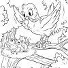 Malvorlage Vogel Füttert Ihre Jungen - Ausmalbilder mit Ausmalbilder Für Jungen