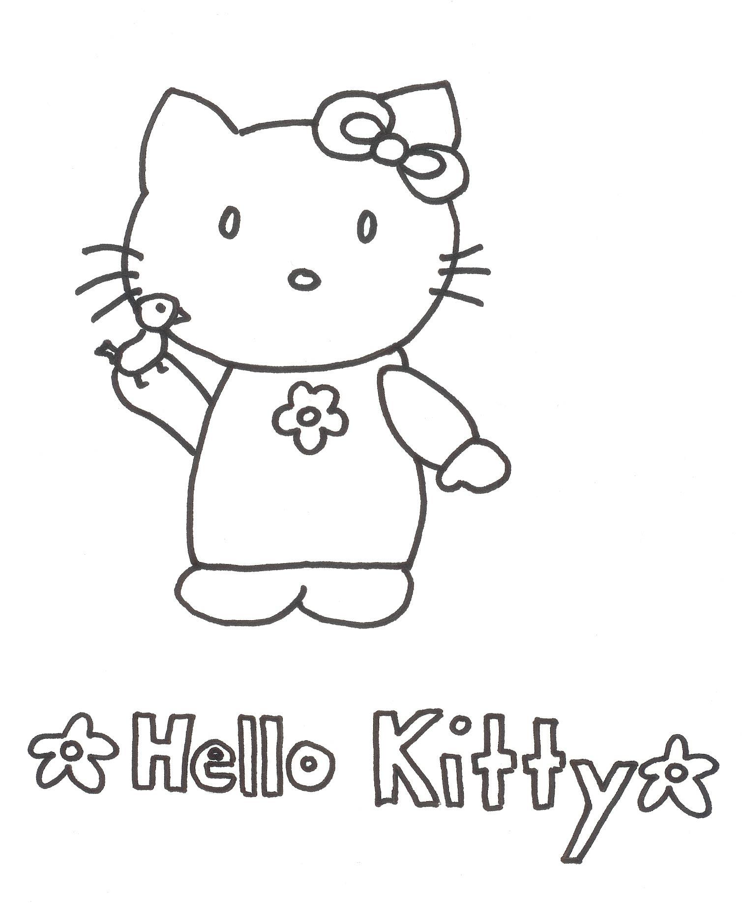 Malvorlagen - Ausmalbilder Hello Kitty   Ausmalbilder bestimmt für Hello Kitty Ausmalbilder Weihnachten