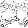 Malvorlagen Blumen - Kostenlose Ausmalbilder | Mytoys Blog in Blumenstrauß Ausmalbilder
