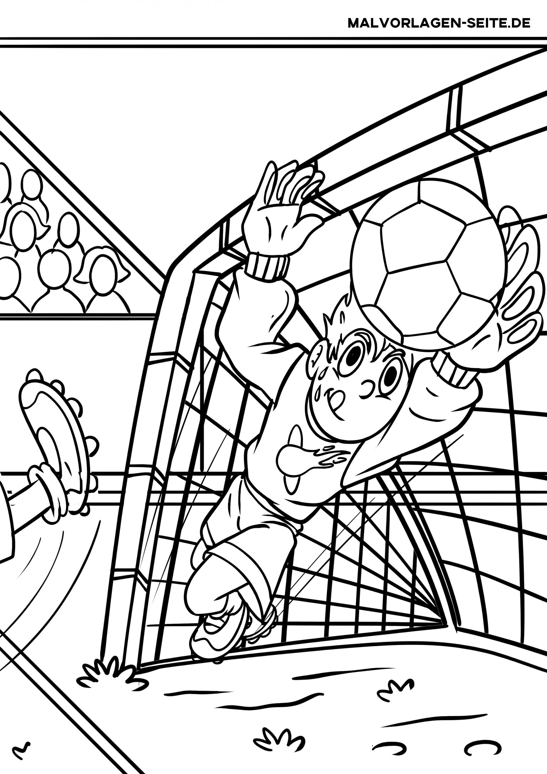 Malvorlagen Fußball Kostenlos Herunterladen, Drucken Und in Ausmalbilder Fußball Kostenlos