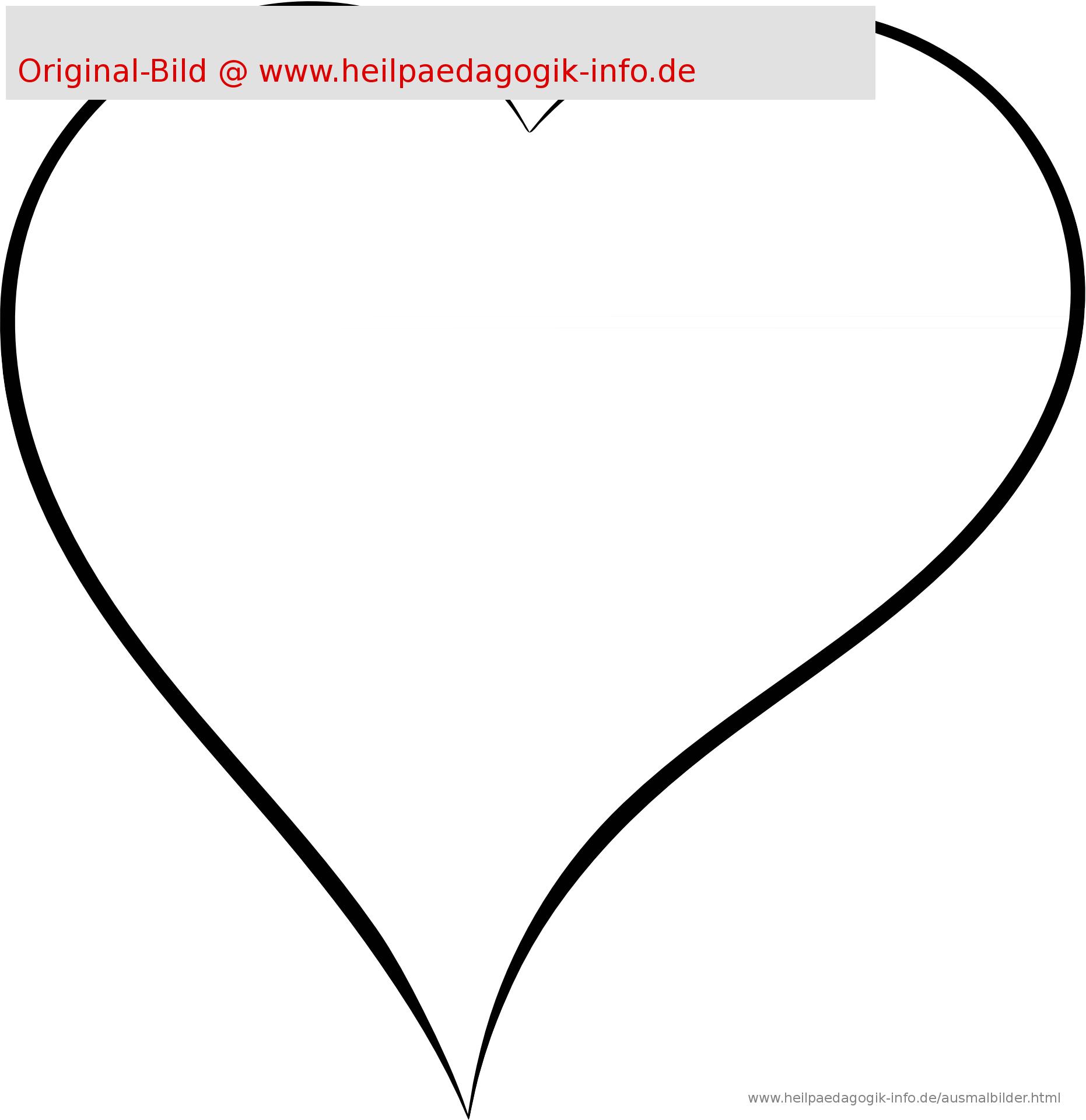 Malvorlagen Herz Kostenlos Ausdrucken | Coloring And Malvorlagan verwandt mit Malvorlage Herz