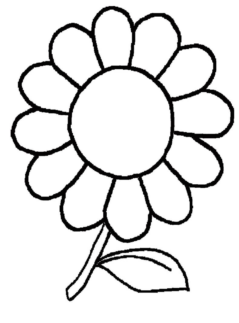Malvorlagen Kostenlos Blumen 2 | Malvorlagen Kostenlos für Blumenbilder Zum Ausdrucken Kostenlos
