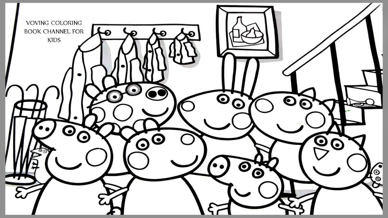 Malvorlagen Peppa Pig - Malvorlagen Für Kinder mit Peppa Wutz Malvorlage