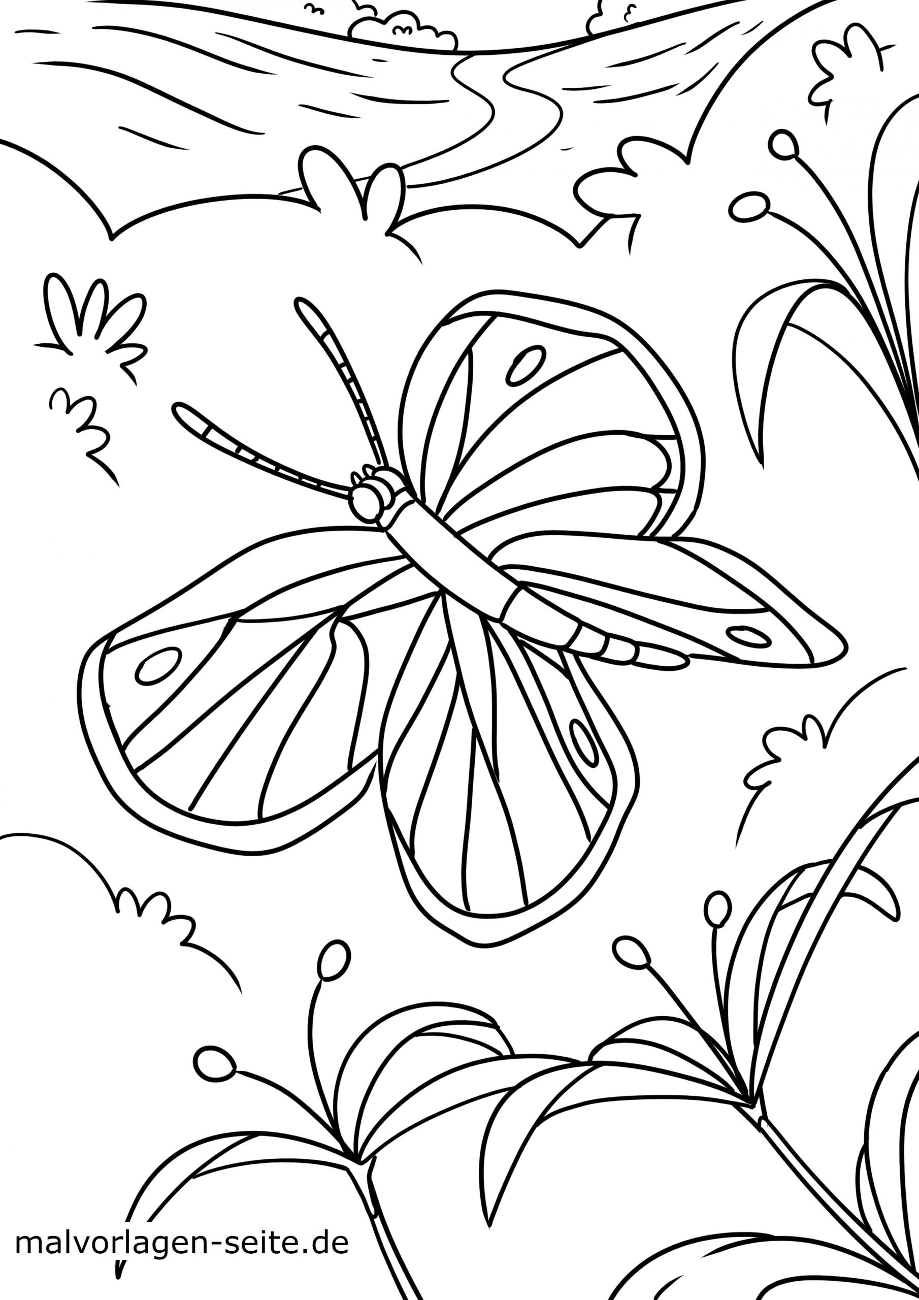 Malvorlagen Schmetterlinge Zum Ausmalen Für Kinder über Malvorlagen Schmetterlinge