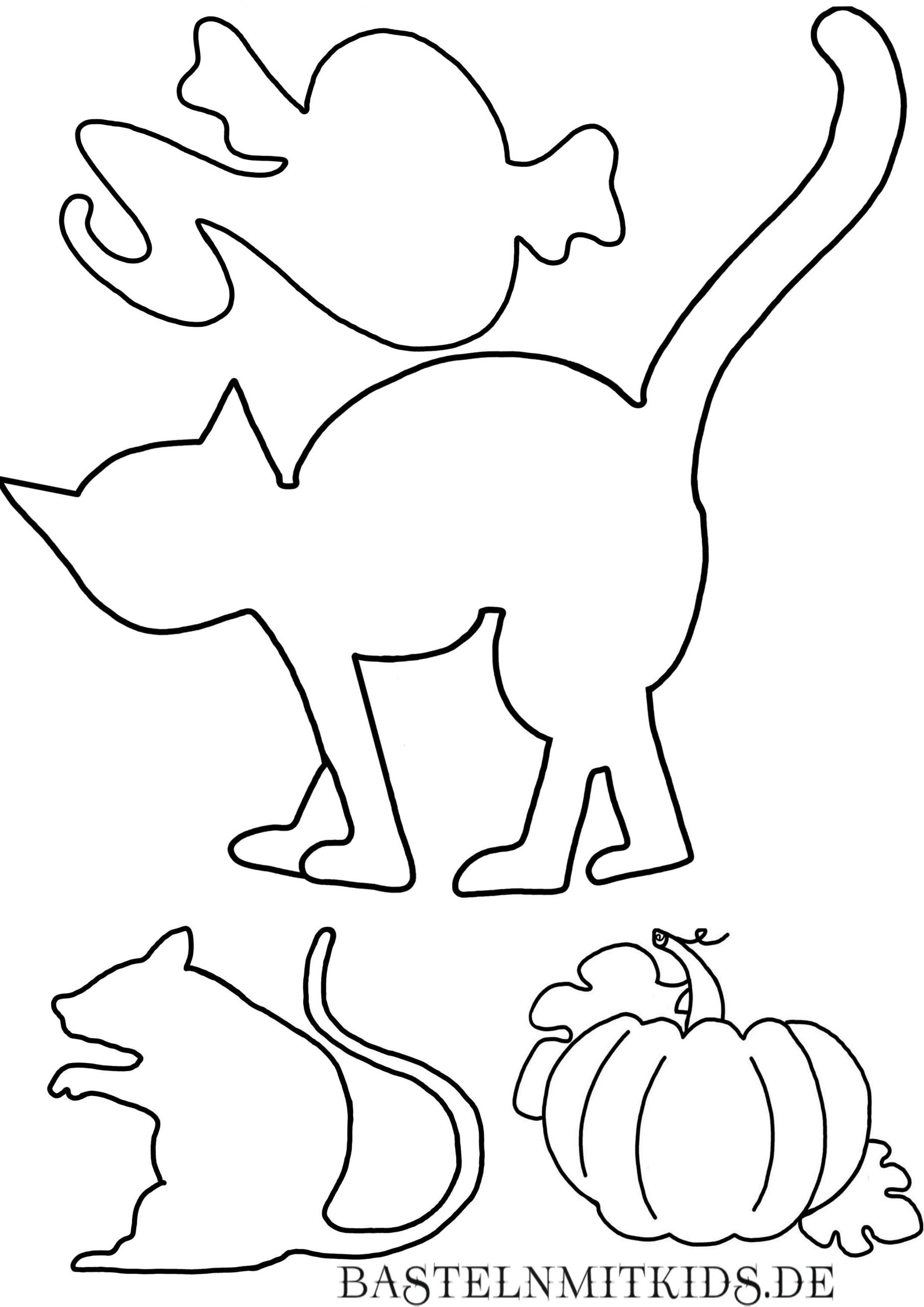 Malvorlagen Und Briefpapier Gratis Zum Drucken - Basteln Mit bestimmt für Gratis Malvorlagen Halloween