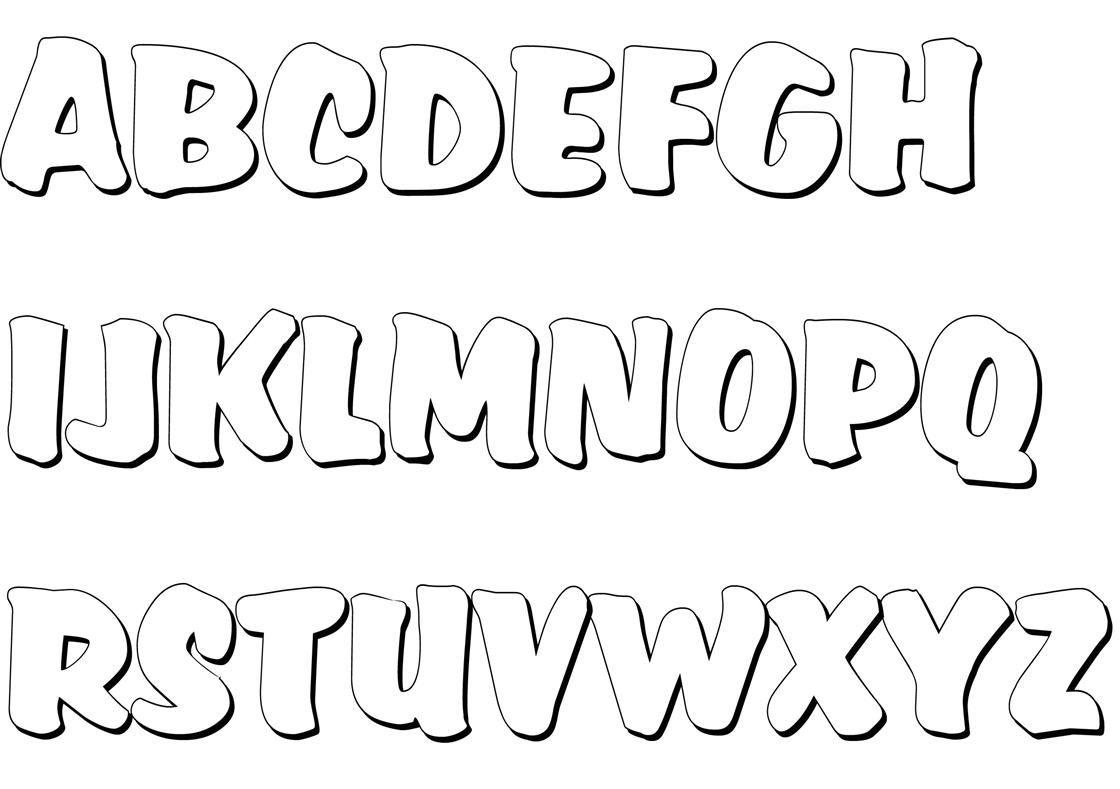 Malvorlagen Von Buchstaben Zum Ausdrucken Und Ausschneiden ganzes Abc Buchstaben Zum Ausdrucken