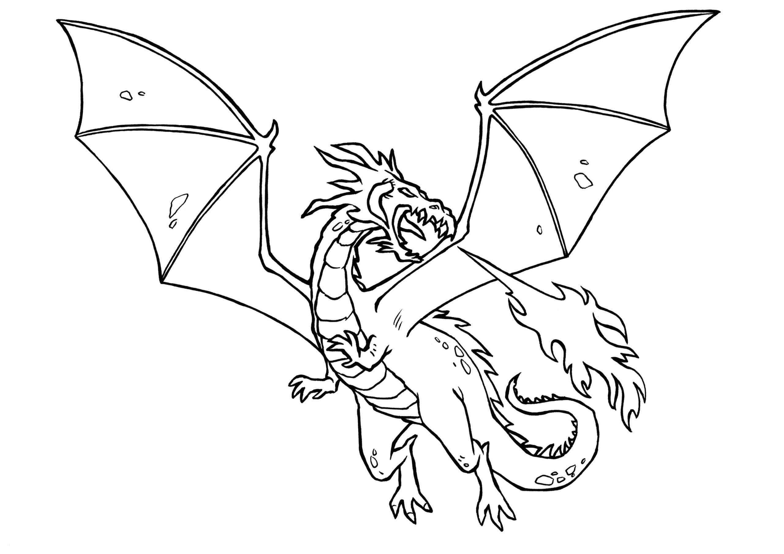 Malvorlagen Von Drachen - Malvorlagen Für Kinder bei Drachen Bilder Zum Ausmalen Und Ausdrucken