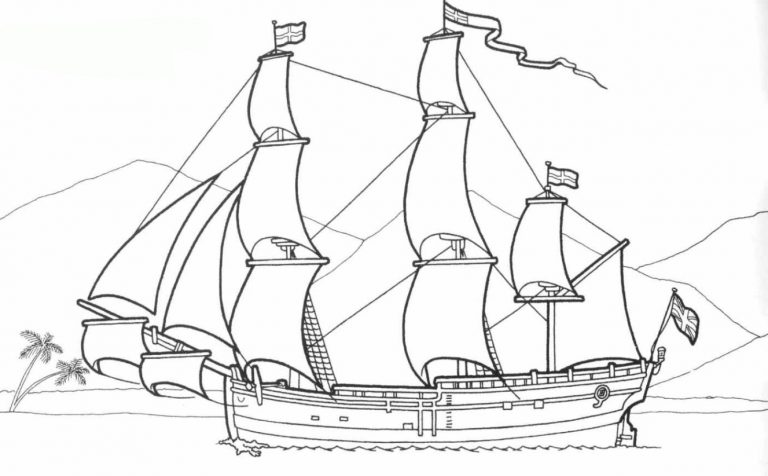 malvorlage piratenschiff  kinderbilderdownload