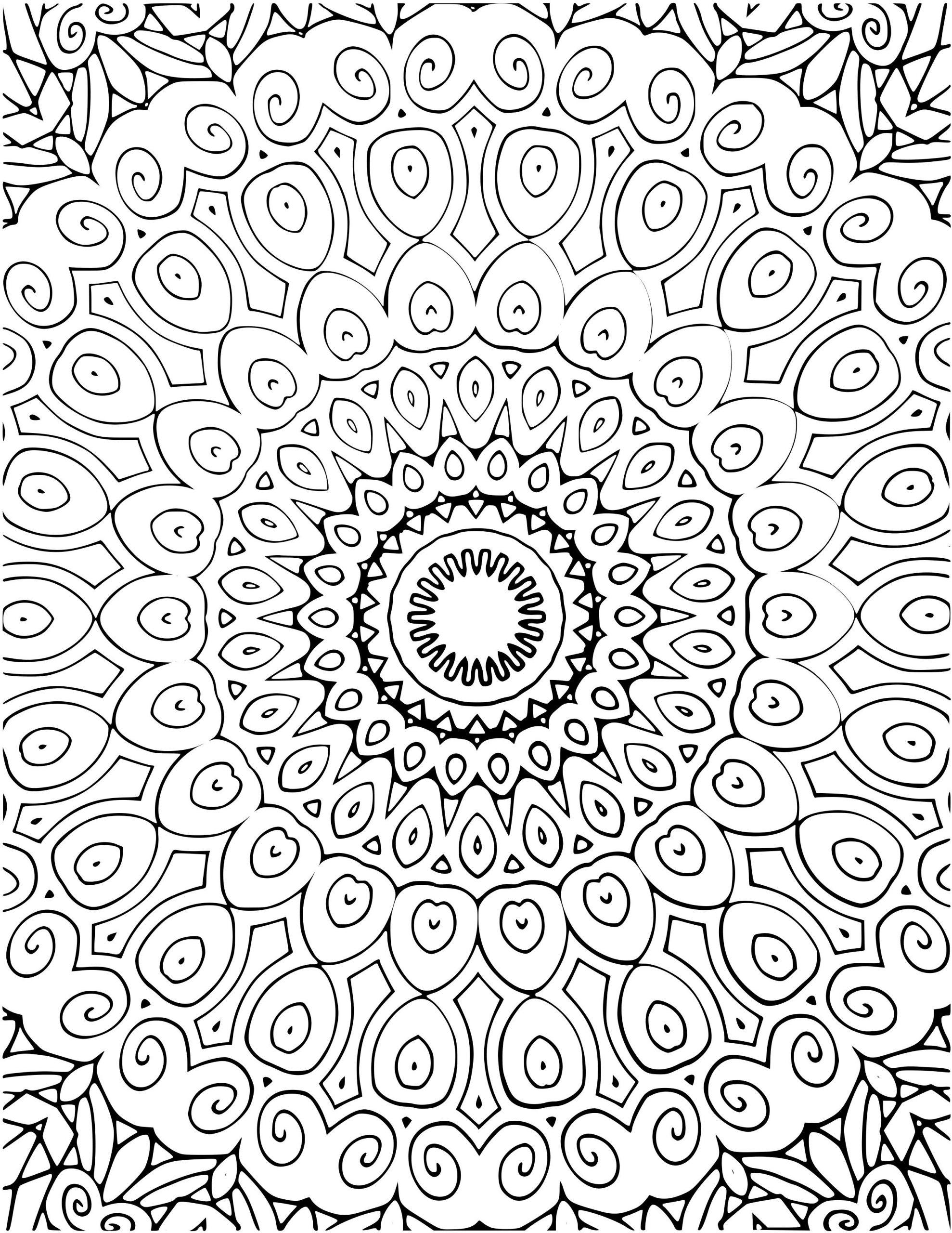Mandala Ausmalen Für Erwachsene - Ausmalbilder Kostenlos bestimmt für Mandalas Zum Ausmalen Für Erwachsene