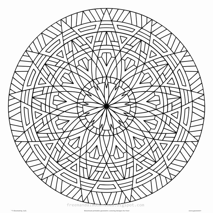 Mandalas Für Erwachsene Zum Ausdrucken Genial Schwierige in Mandala Zum Ausdrucken Für Erwachsene