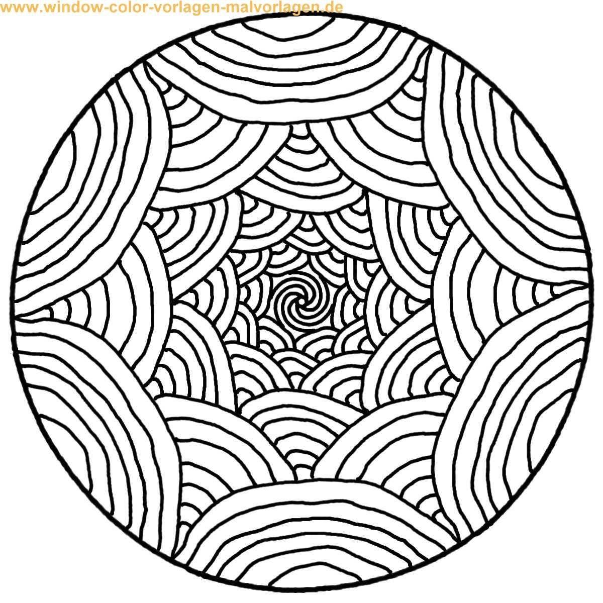 Mandalas To Print And Color | Malvorlage | Ausmalbild bei Mandalas Zum Ausmalen