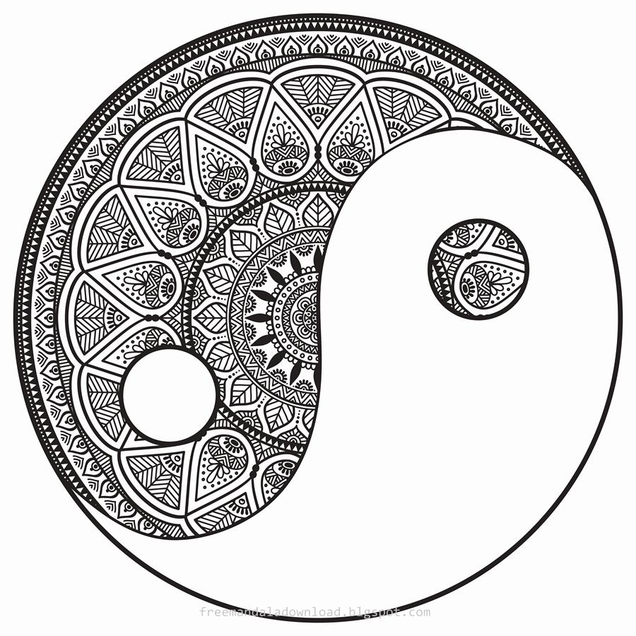 Mandalas Zum Ausdrucken Für Kinder Genial Schwierige innen Mandala Zum Ausdrucken Für Erwachsene