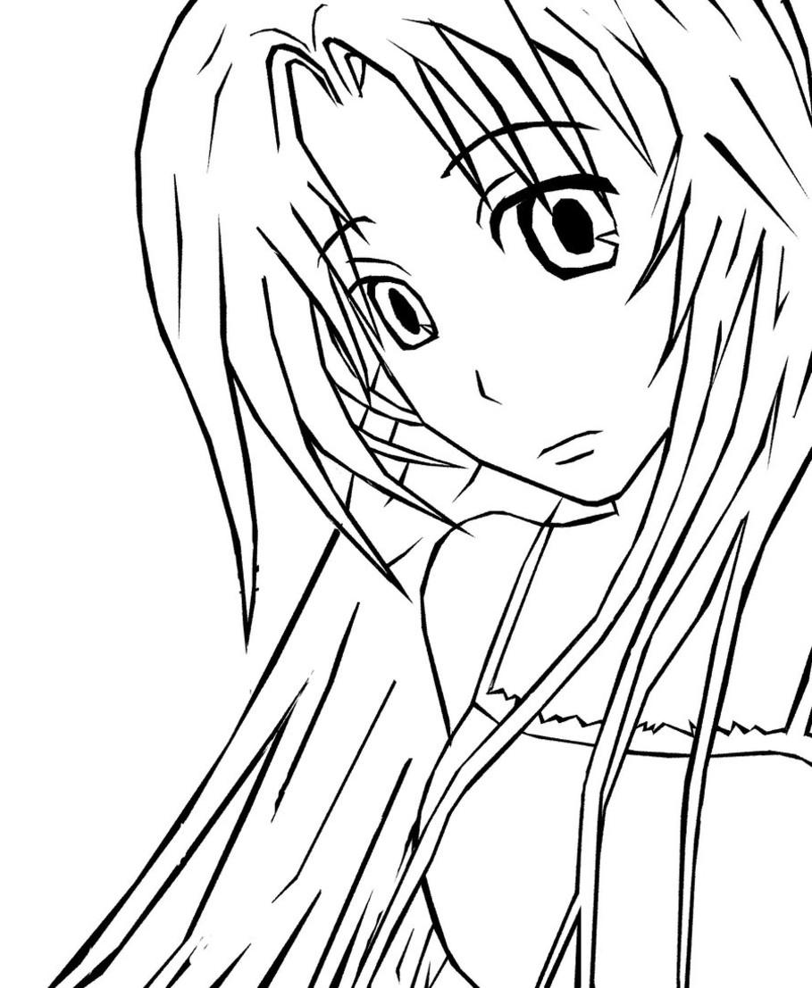 Manga Ausmalbilder   123 Ausmalbilder innen Manga Ausmalen